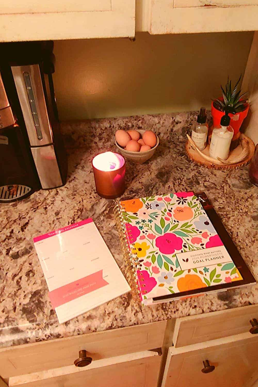 powersheets goal planner from cultivate what matters